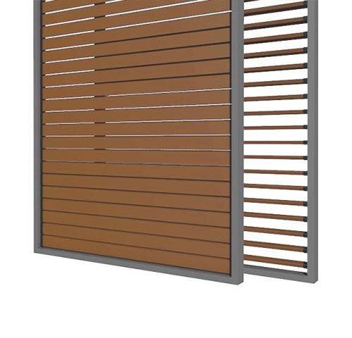 Holzschiebeläden – Modell 3