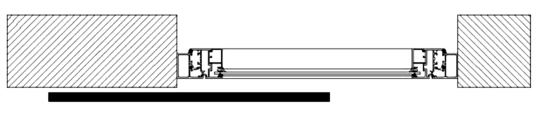 Sliding Shutters Division Diagram 1l1r