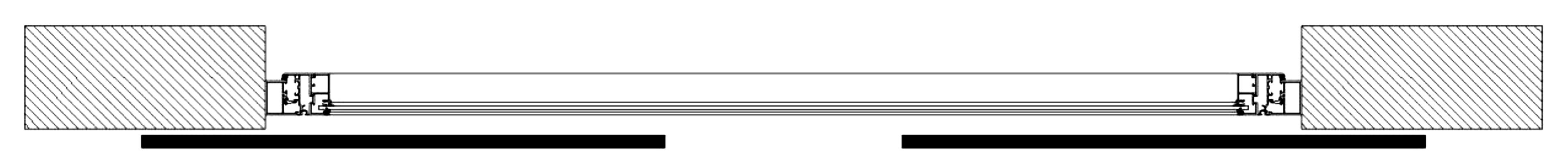 Sliding Shutters Division Diagram 2l1l1r