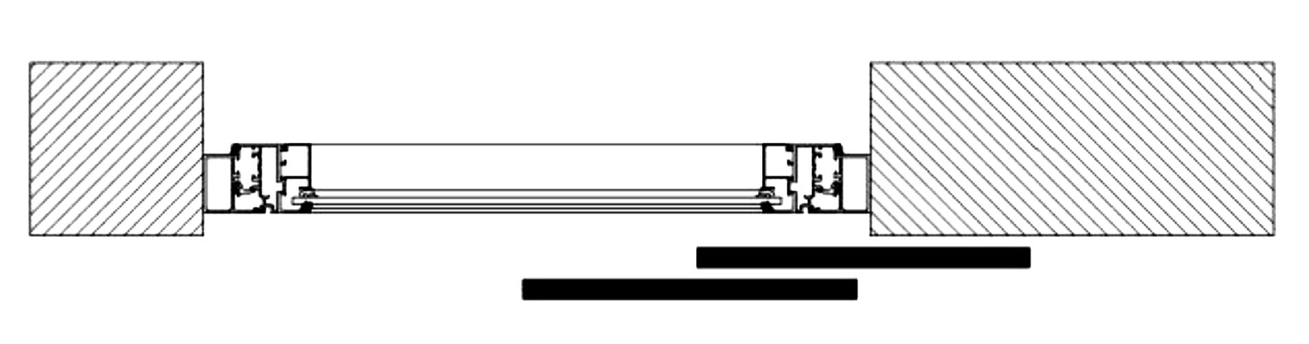 Sliding Shutters Division Diagram 2l2r