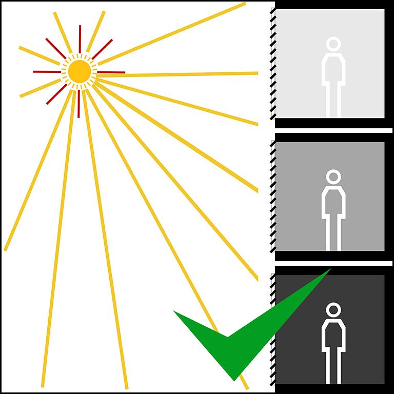 SKIRPUS Holzschiebeladen - Lichtübertragung