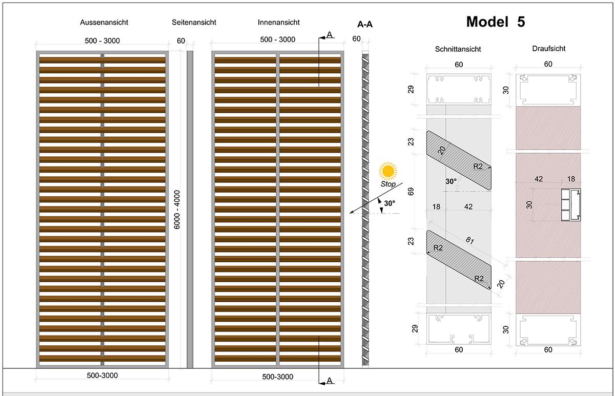 Skirpus Schiebeläden Model 5 - Schaltpläne