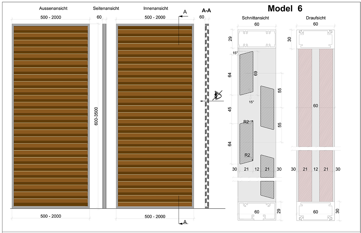 Skirpus Schiebeläden Model 6 - Schaltpläne